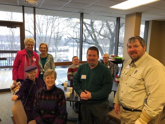 Elk River Luther Visit